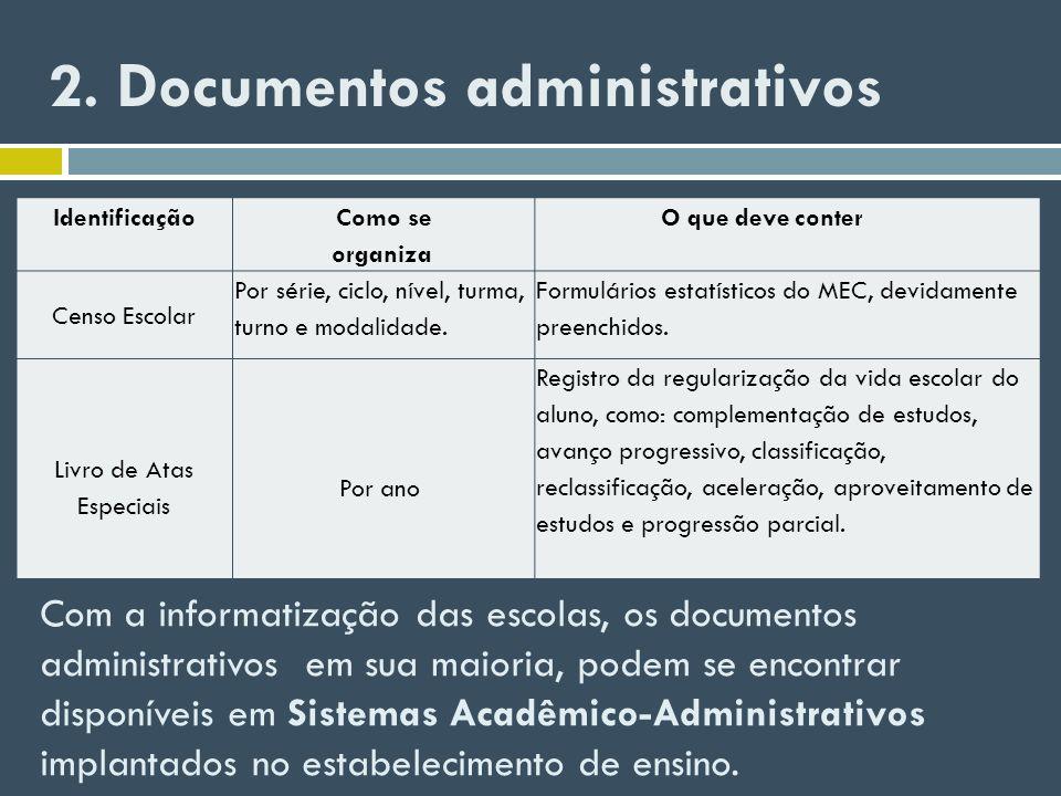 2. Documentos administrativos