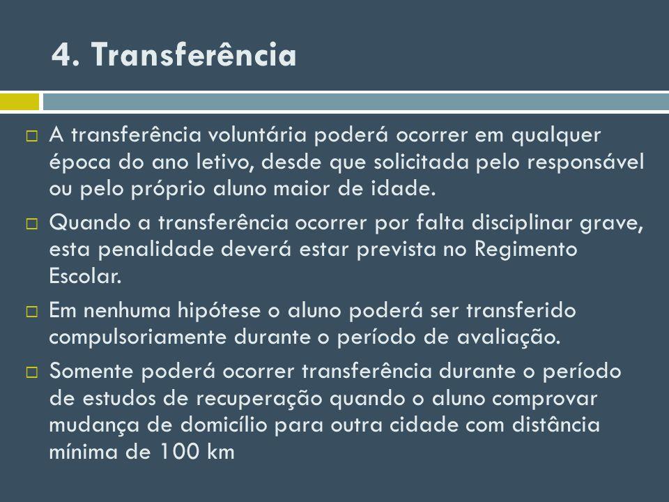 4. Transferência