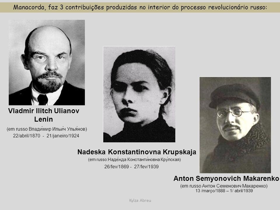 Vladmir Ilitch Ulianov Lenin