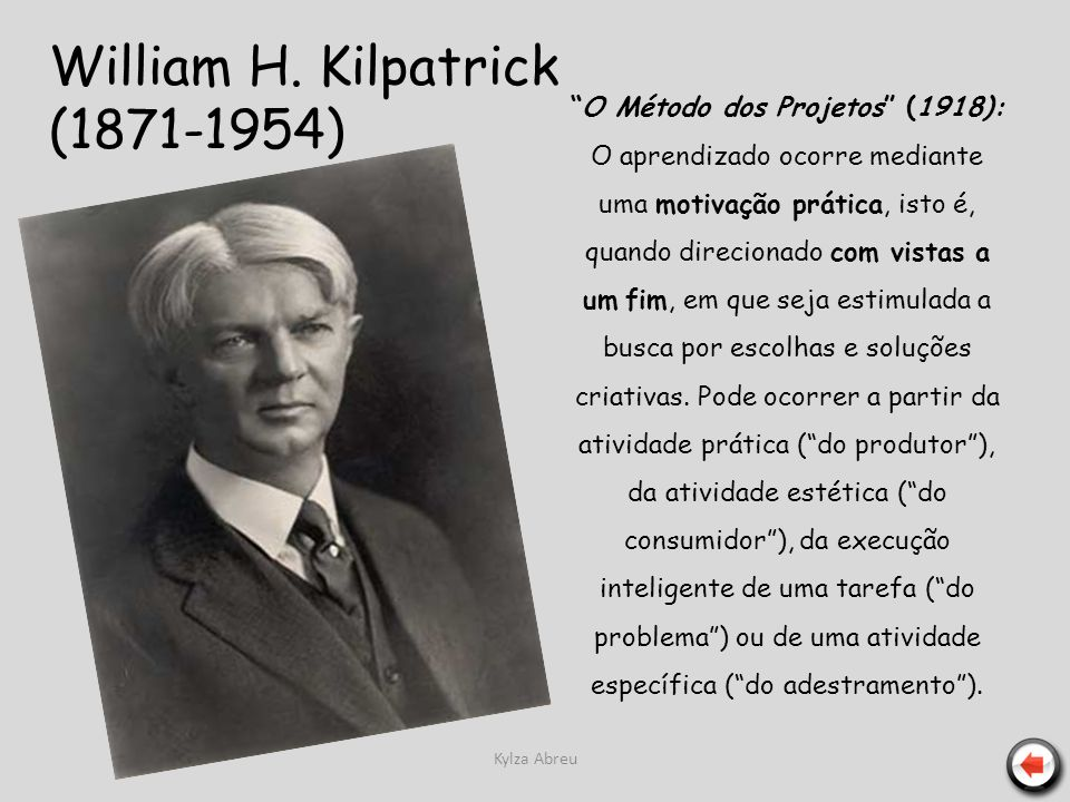 William H. Kilpatrick (1871-1954)