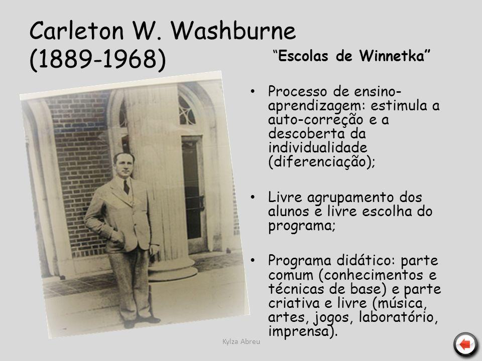 Carleton W. Washburne (1889-1968)