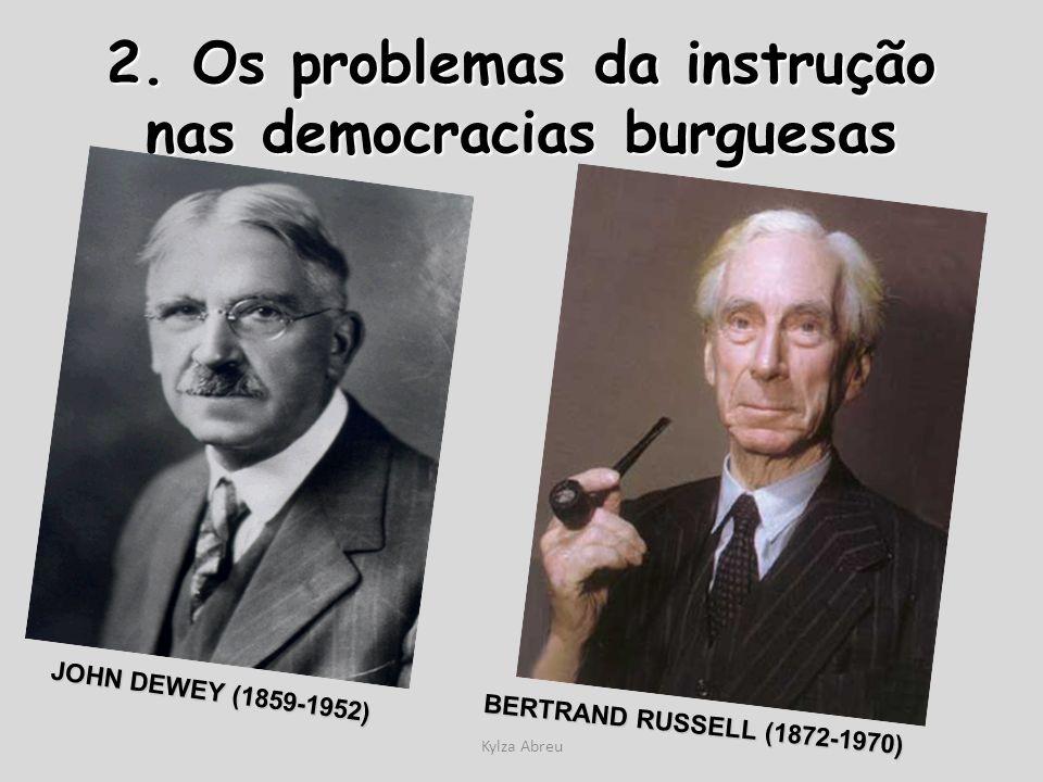 2. Os problemas da instrução nas democracias burguesas