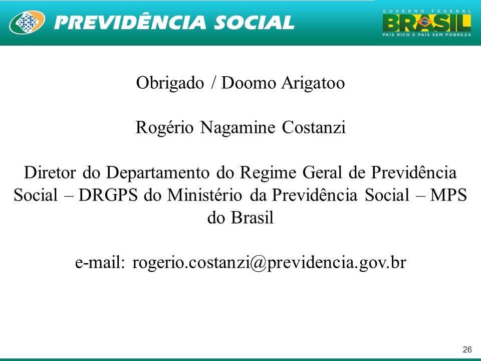 Obrigado / Doomo Arigatoo Rogério Nagamine Costanzi