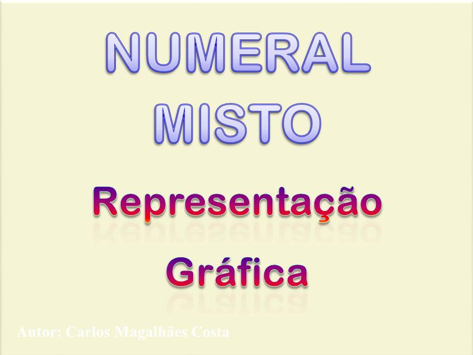 NUMERAL MISTO Representação Gráfica Autor: Carlos Magalhães Costa