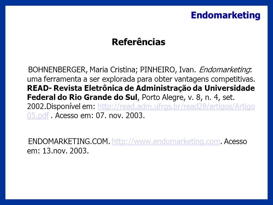 Referências Endomarketing