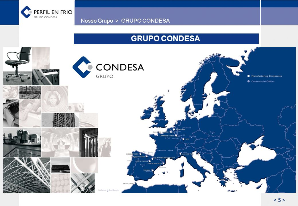 Nosso Grupo > GRUPO CONDESA