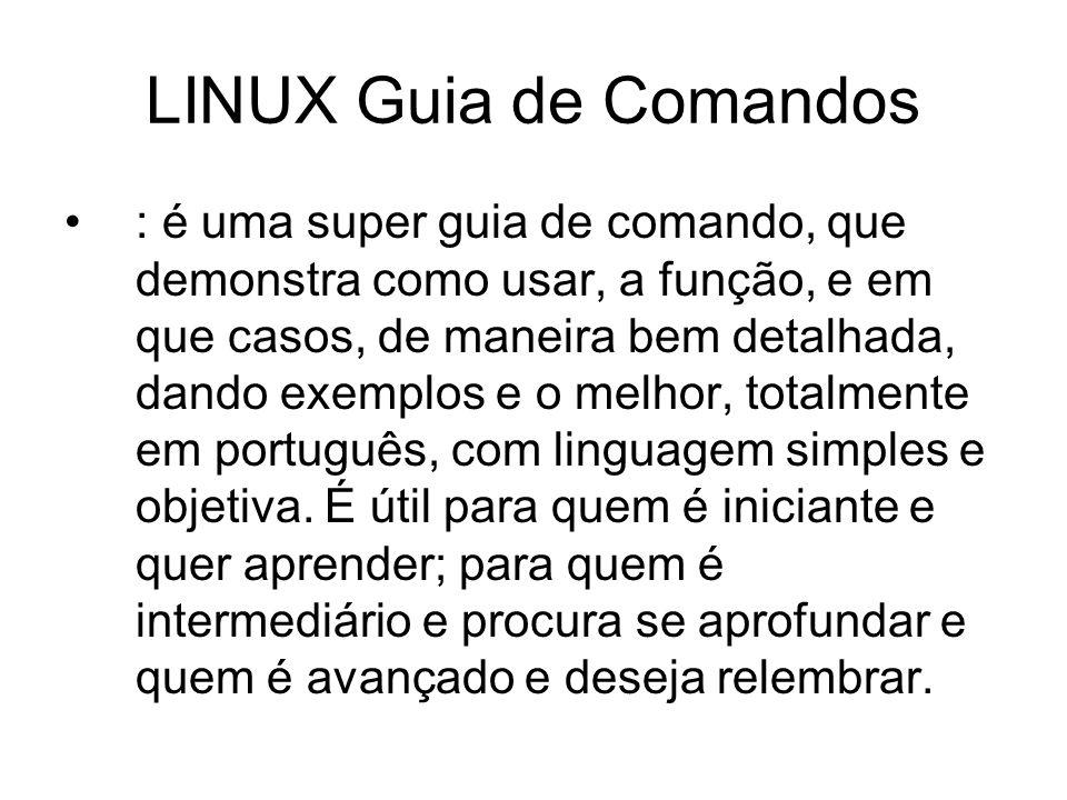 LINUX Guia de Comandos