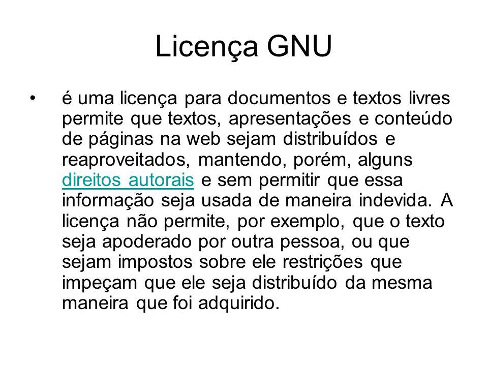 Licença GNU