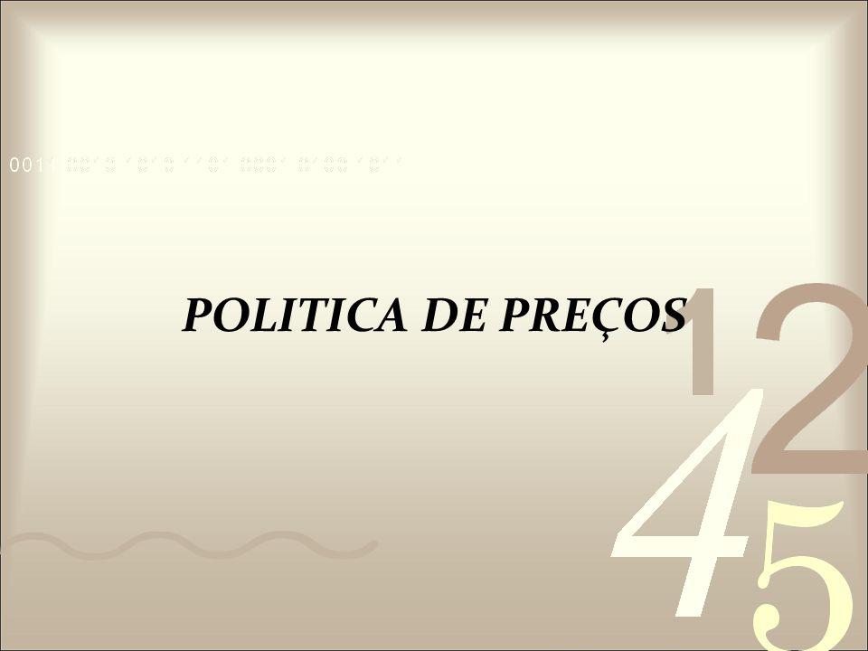 POLITICA DE PREÇOS