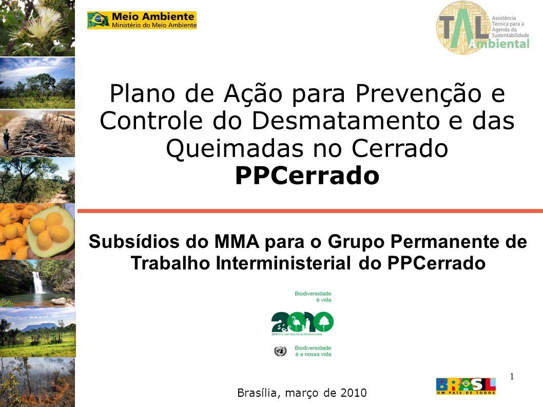 Plano de Ação para Prevenção e Controle do Desmatamento e das Queimadas no Cerrado