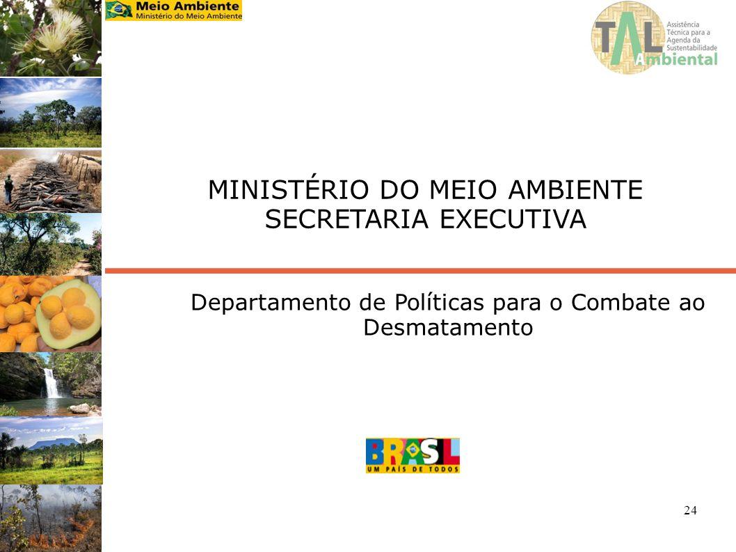 MINISTÉRIO DO MEIO AMBIENTE SECRETARIA EXECUTIVA