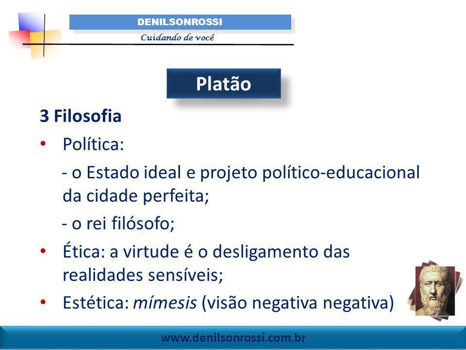 Platão 3 Filosofia Política: