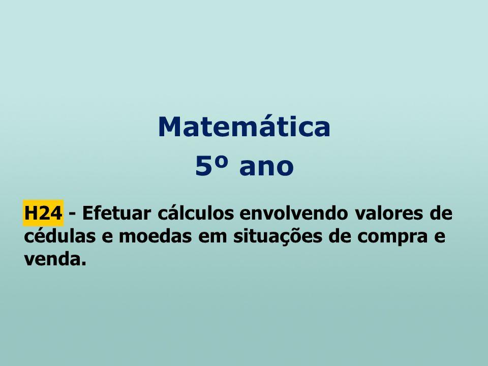 Matemática 5º ano.
