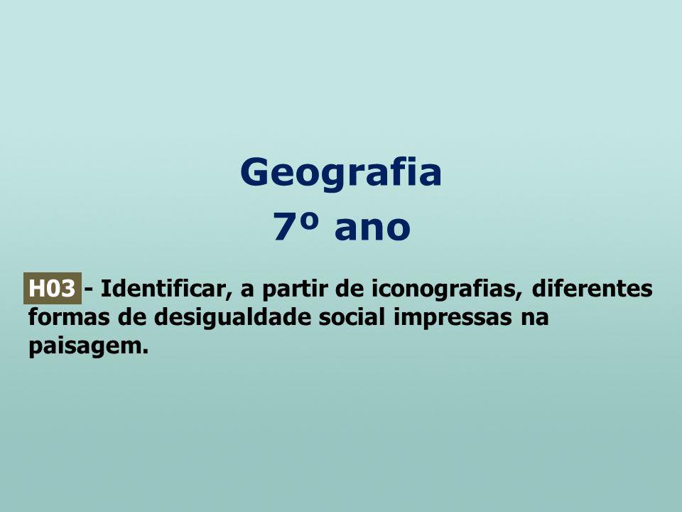 Geografia 7º ano.