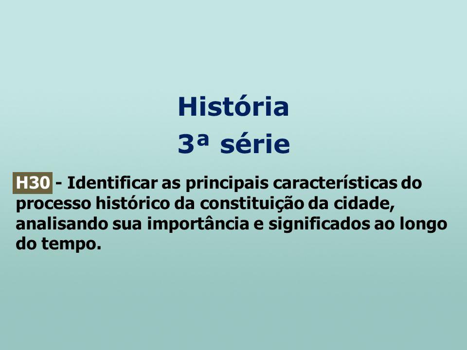 História 3ª série.