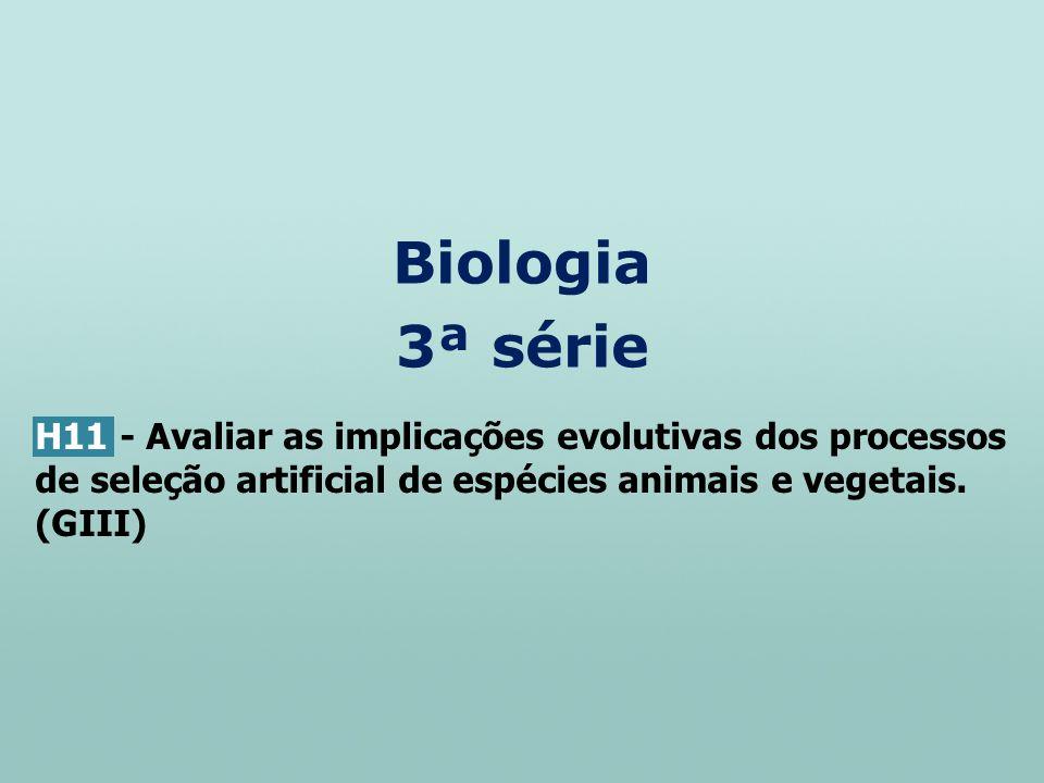 Biologia 3ª série.