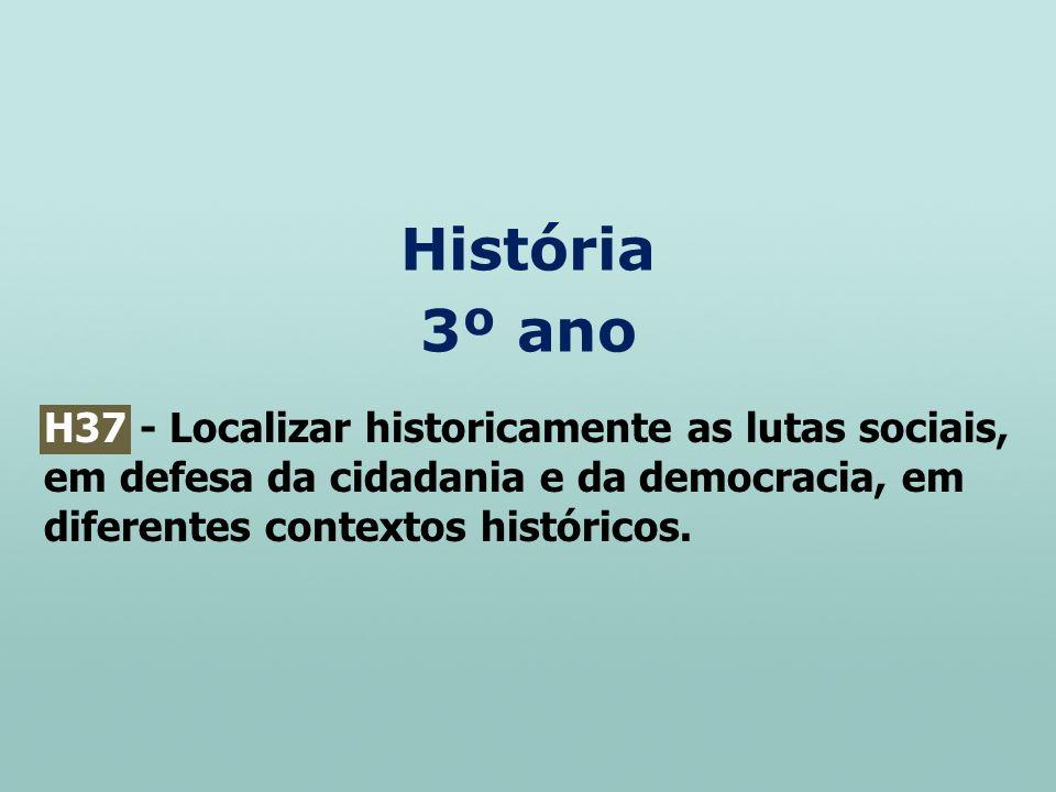 História 3º ano.
