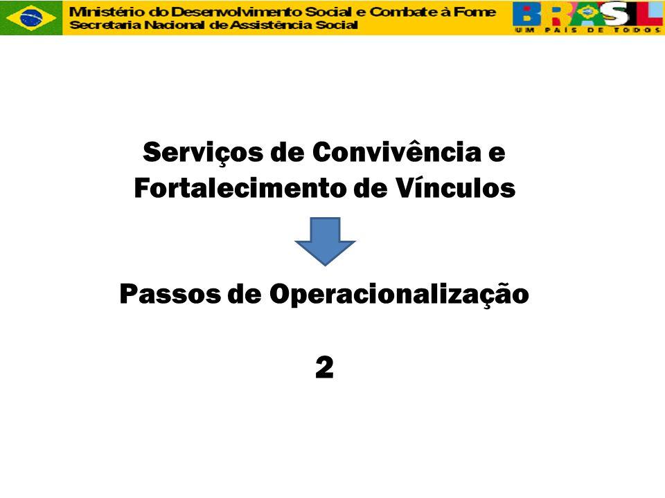 2 Serviços de Convivência e Fortalecimento de Vínculos