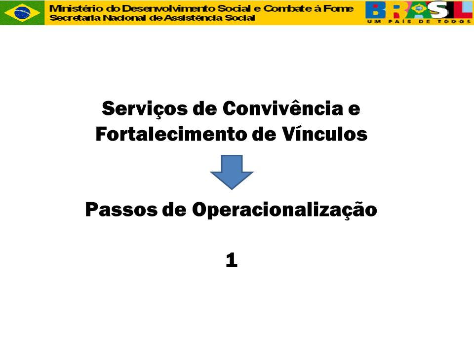 Serviços de Convivência e Fortalecimento de Vínculos