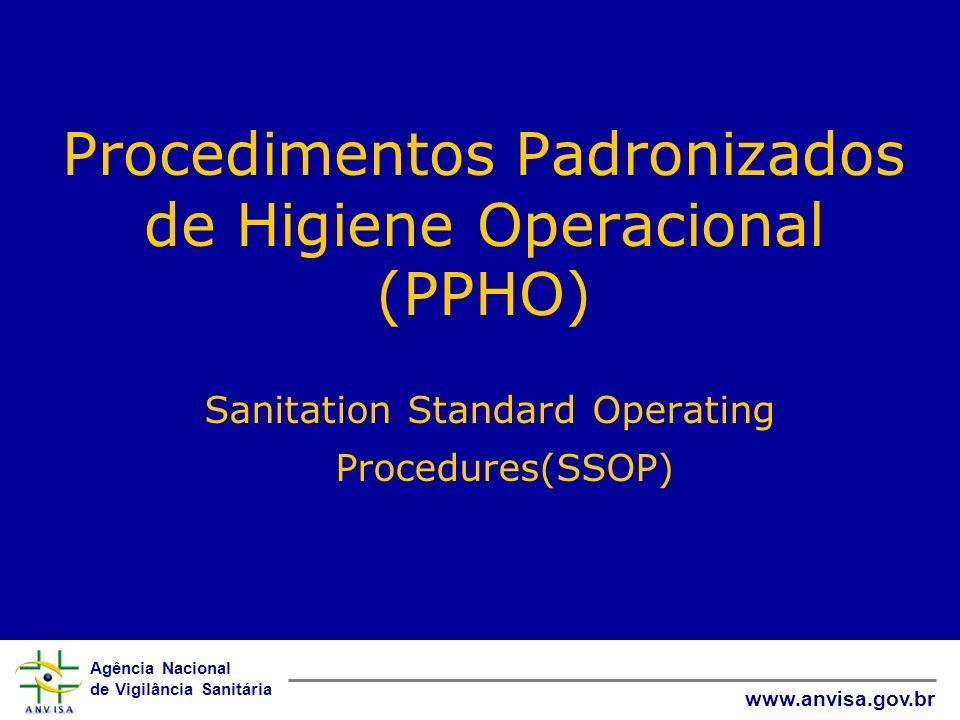 Procedimentos Padronizados de Higiene Operacional (PPHO)