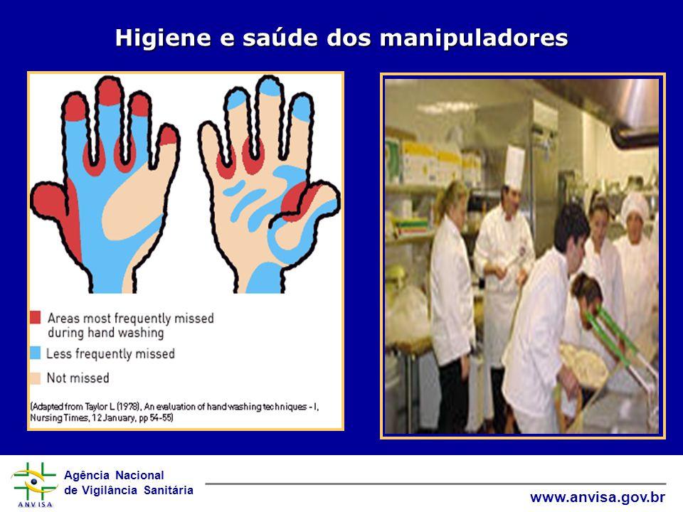 Higiene e saúde dos manipuladores