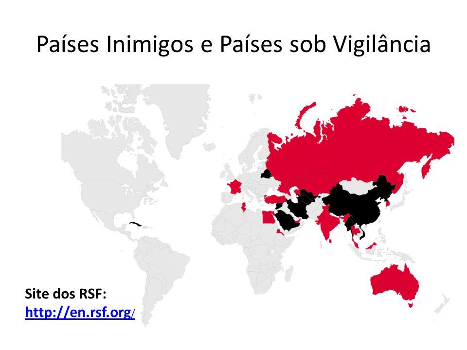 Países Inimigos e Países sob Vigilância