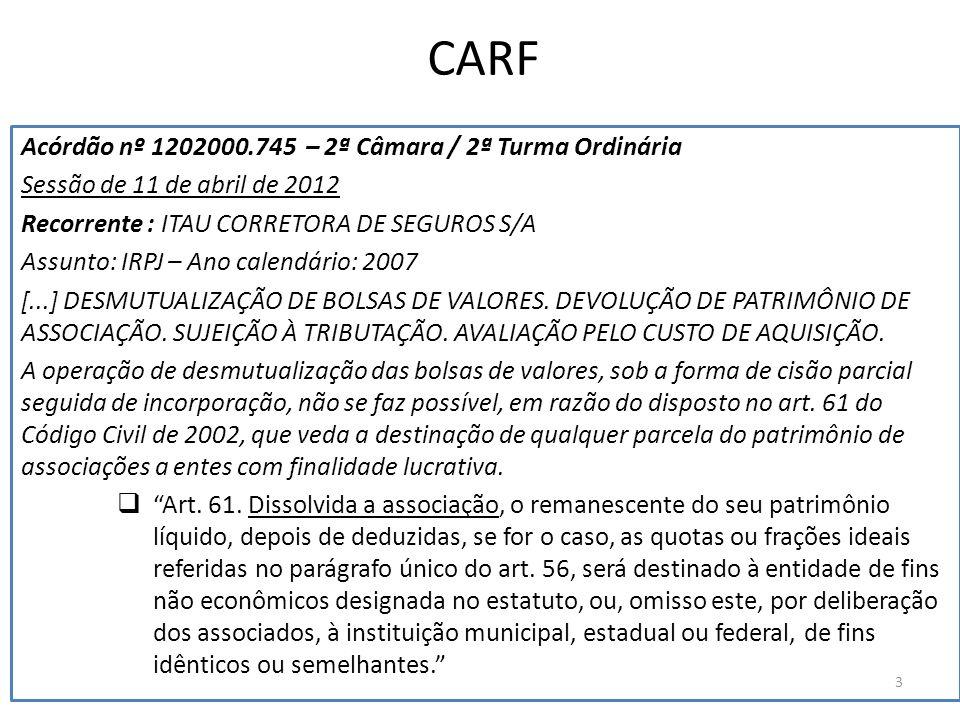 CARF Acórdão nº 1202000.745 – 2ª Câmara / 2ª Turma Ordinária