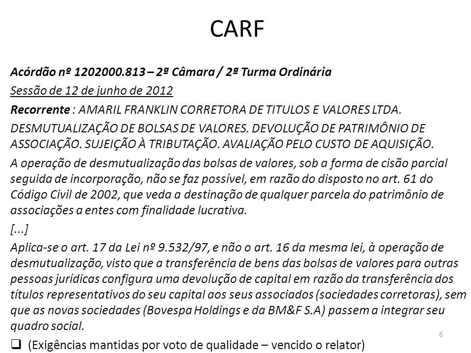 CARF Acórdão nº 1202000.813 – 2ª Câmara / 2ª Turma Ordinária