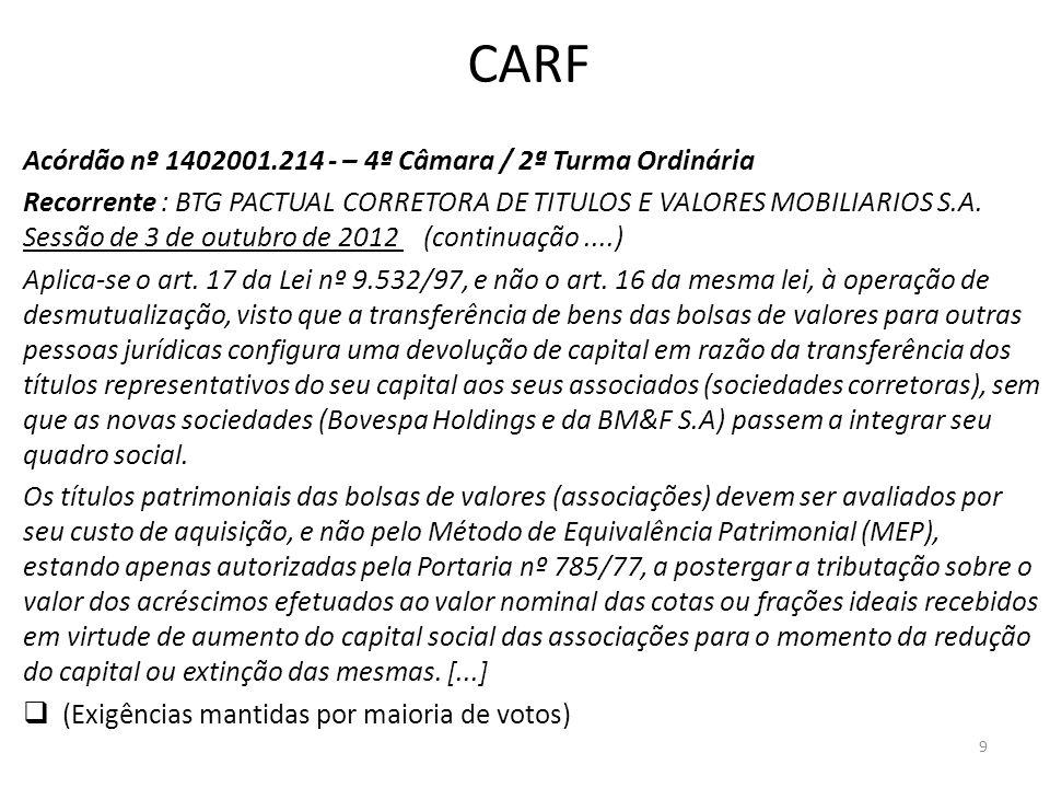 CARF Acórdão nº 1402001.214 - – 4ª Câmara / 2ª Turma Ordinária