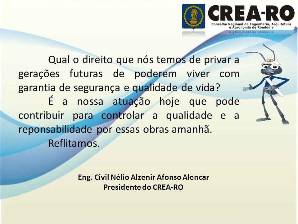 Eng. Civil Nélio Alzenir Afonso Alencar