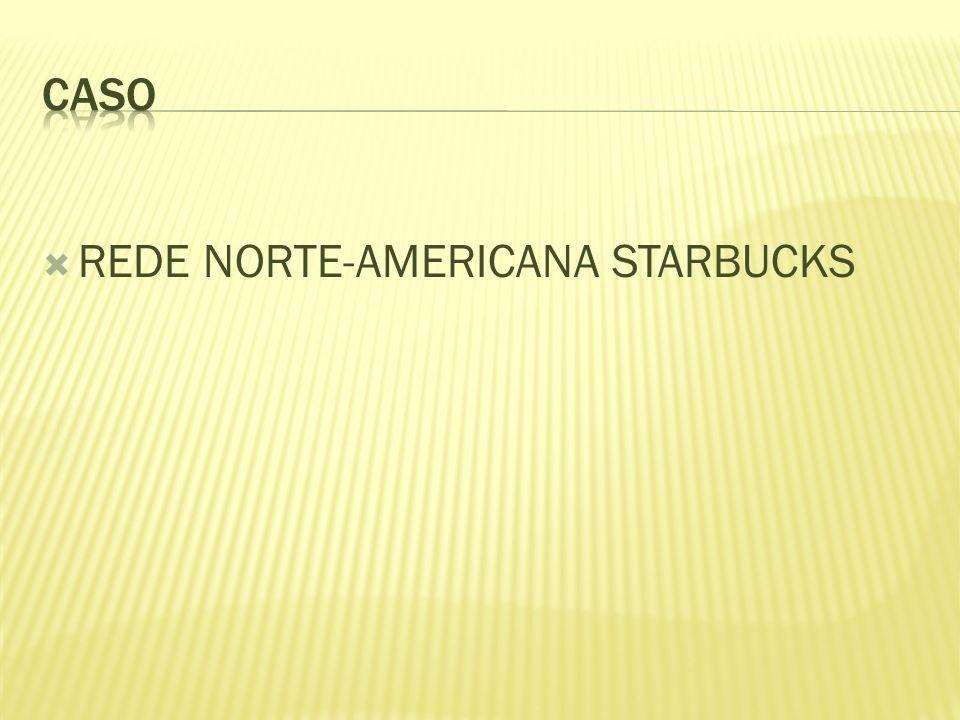 CASO REDE NORTE-AMERICANA STARBUCKS