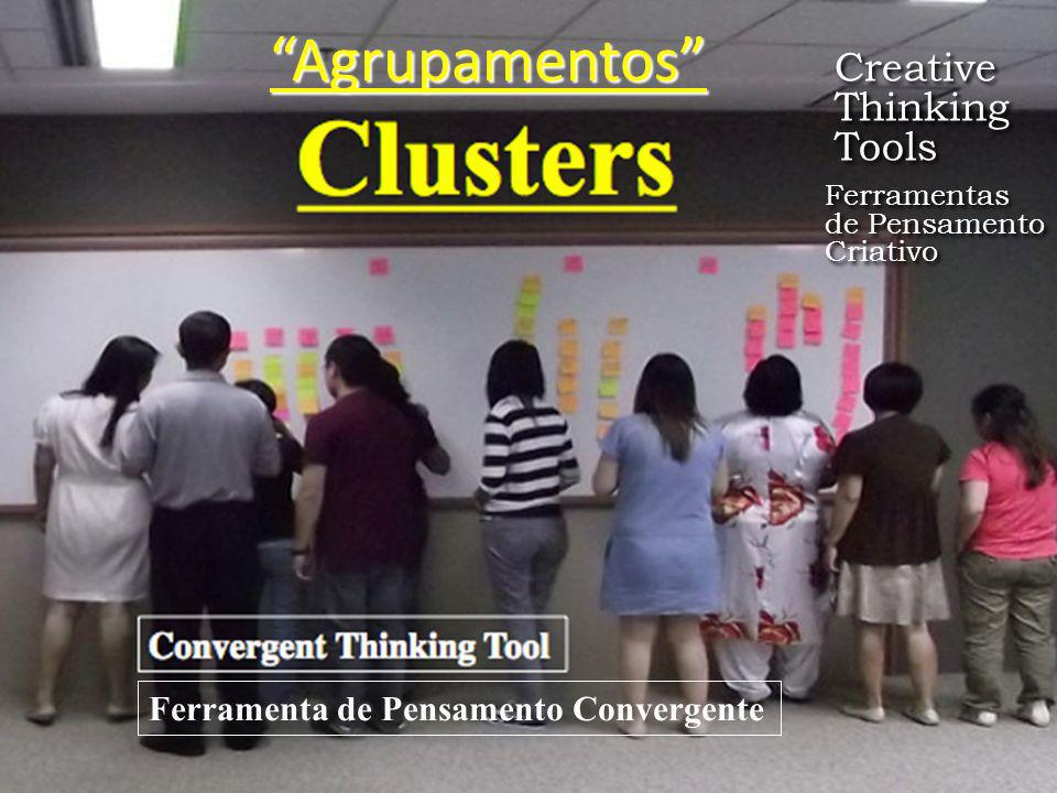 Agrupamentos Creative Thinking Tools