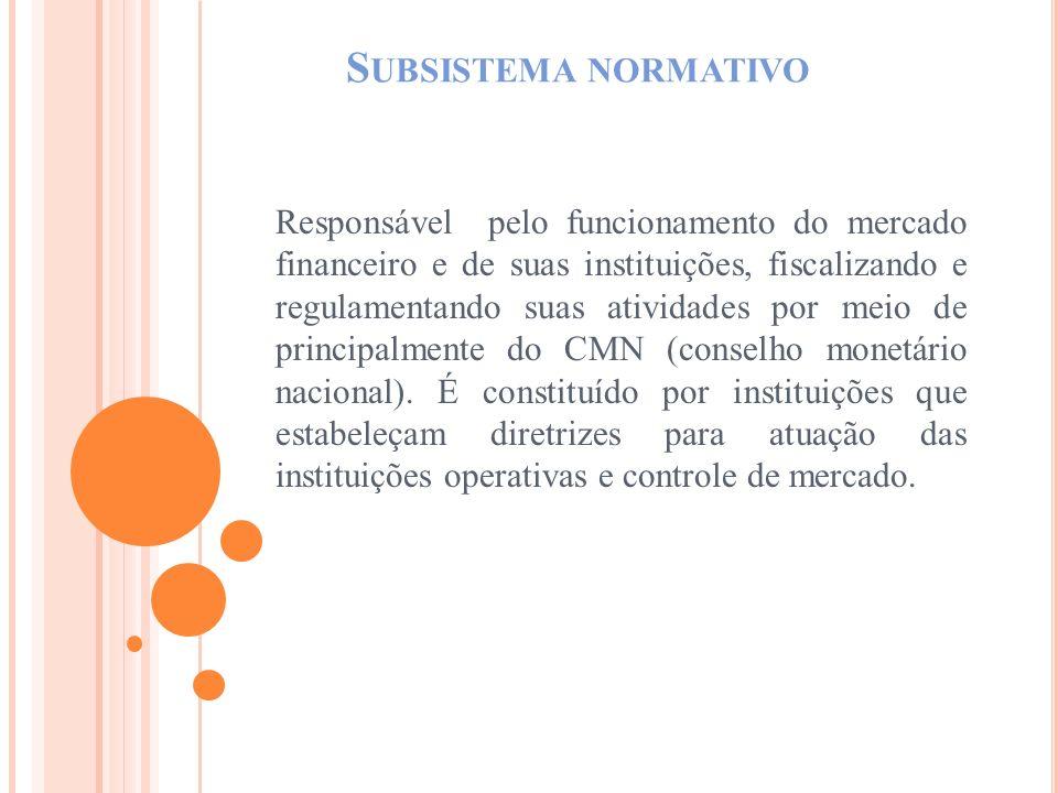 Subsistema normativo