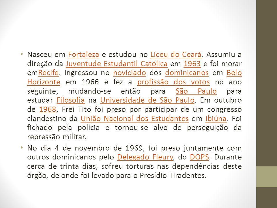 Nasceu em Fortaleza e estudou no Liceu do Ceará