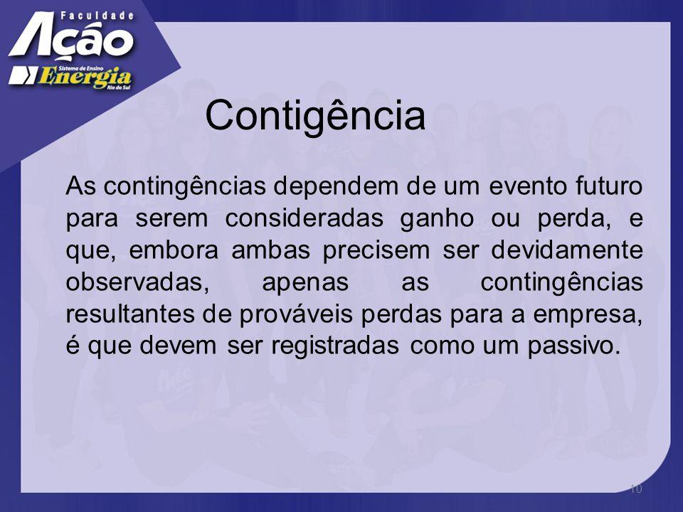 Contigência