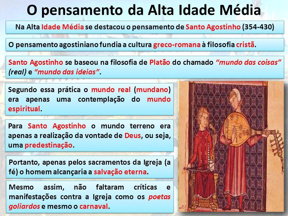 O pensamento da Alta Idade Média