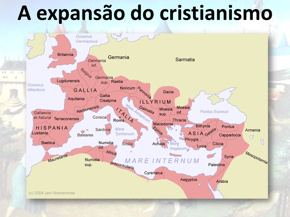 A expansão do cristianismo