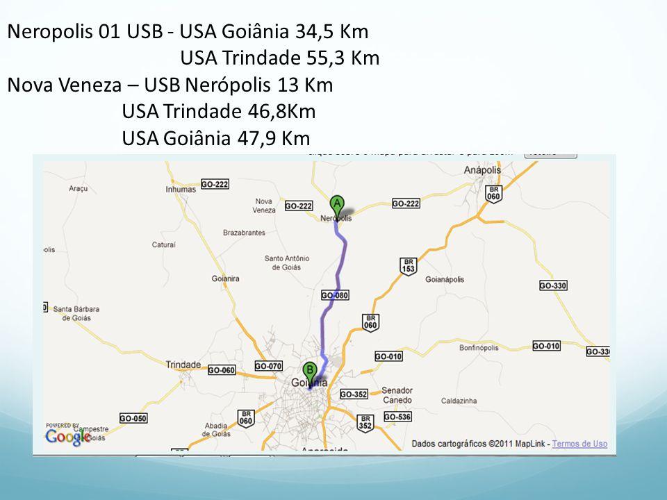 Neropolis 01 USB - USA Goiânia 34,5 Km