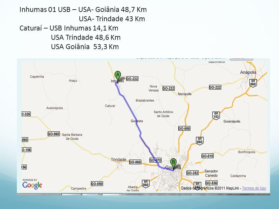 Inhumas 01 USB – USA- Goiânia 48,7 Km
