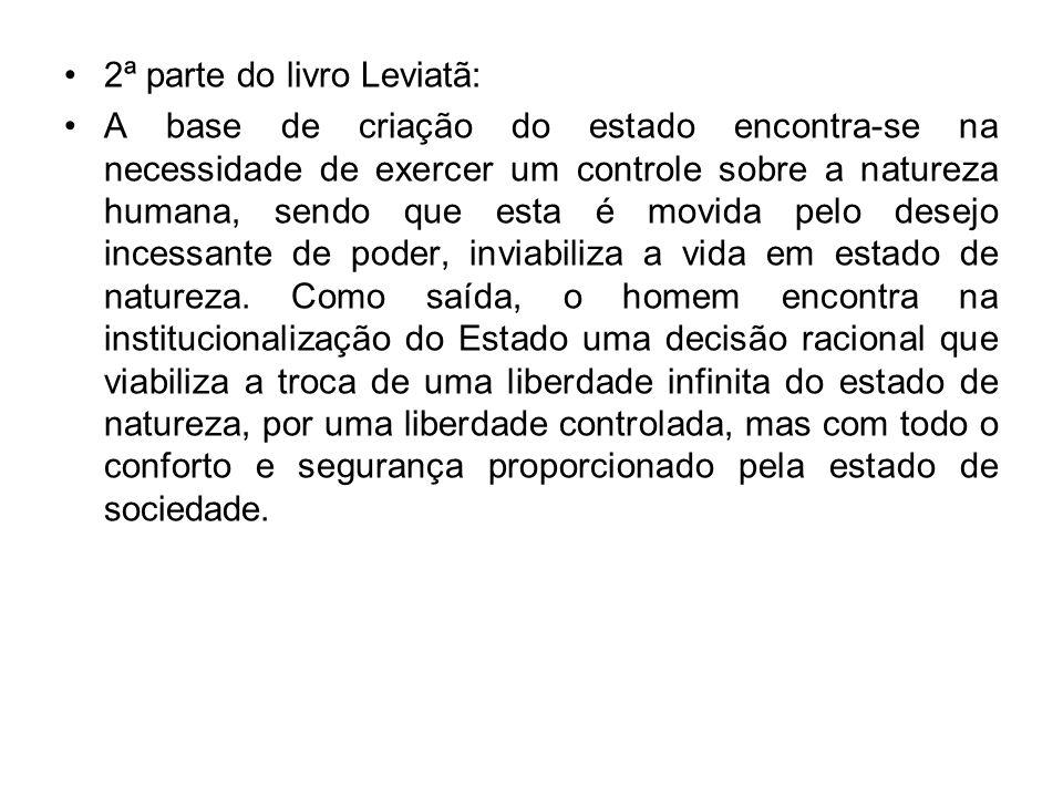2ª parte do livro Leviatã: