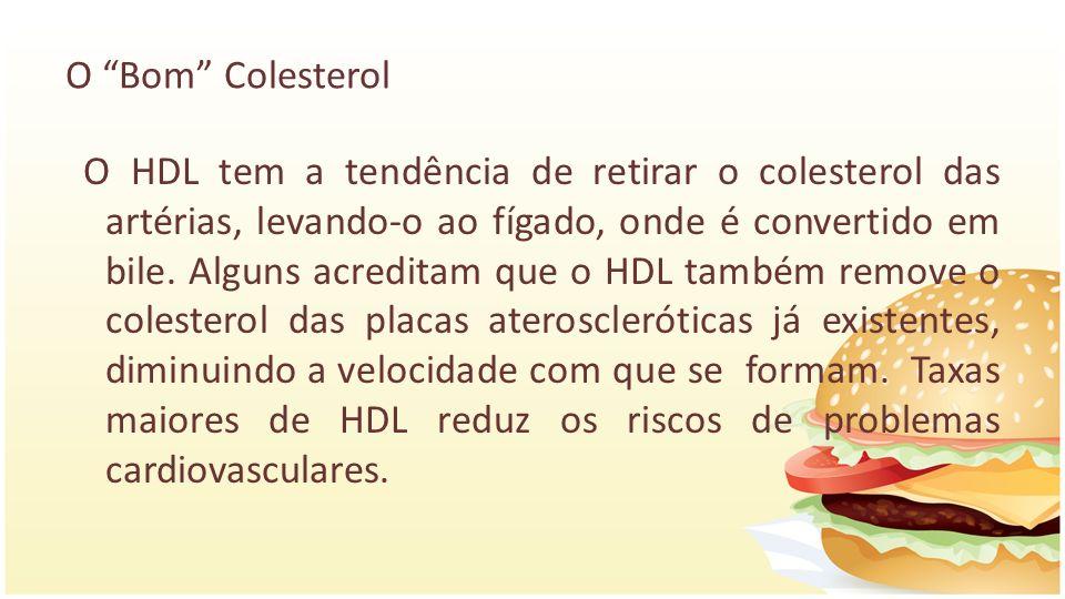 O Bom Colesterol