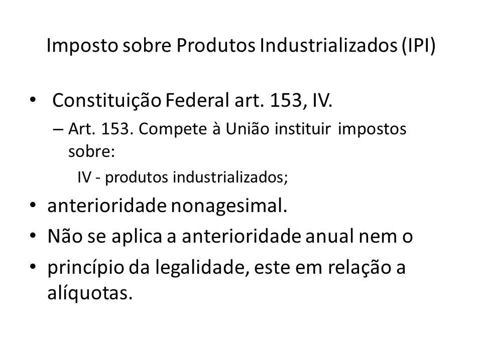 Imposto sobre Produtos Industrializados (IPI)