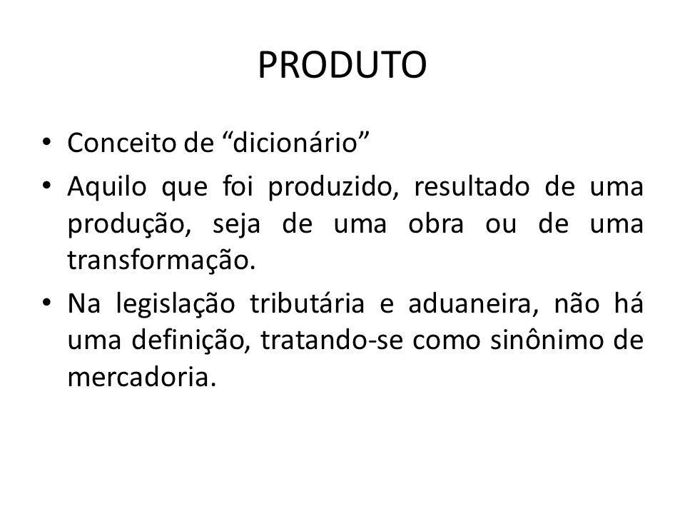 PRODUTO Conceito de dicionário