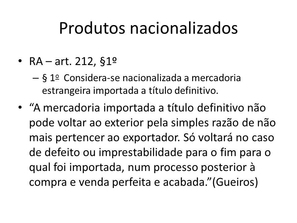 Produtos nacionalizados