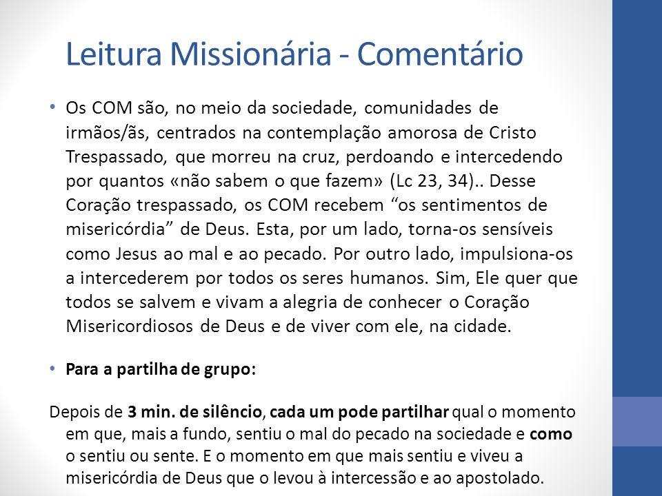 Leitura Missionária - Comentário