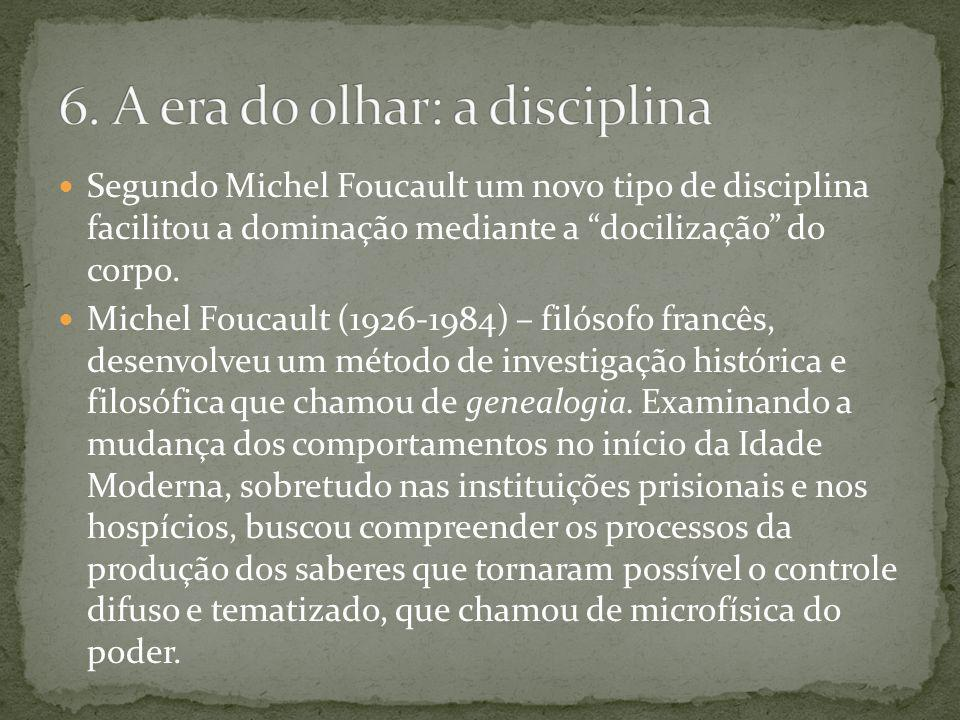 6. A era do olhar: a disciplina