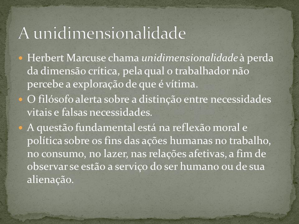 A unidimensionalidade