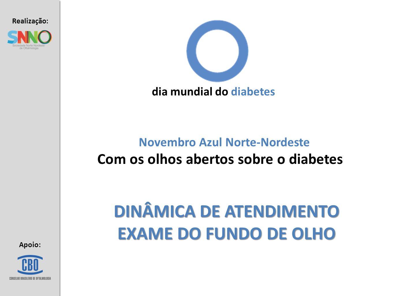 DINÂMICA DE ATENDIMENTO EXAME DO FUNDO DE OLHO