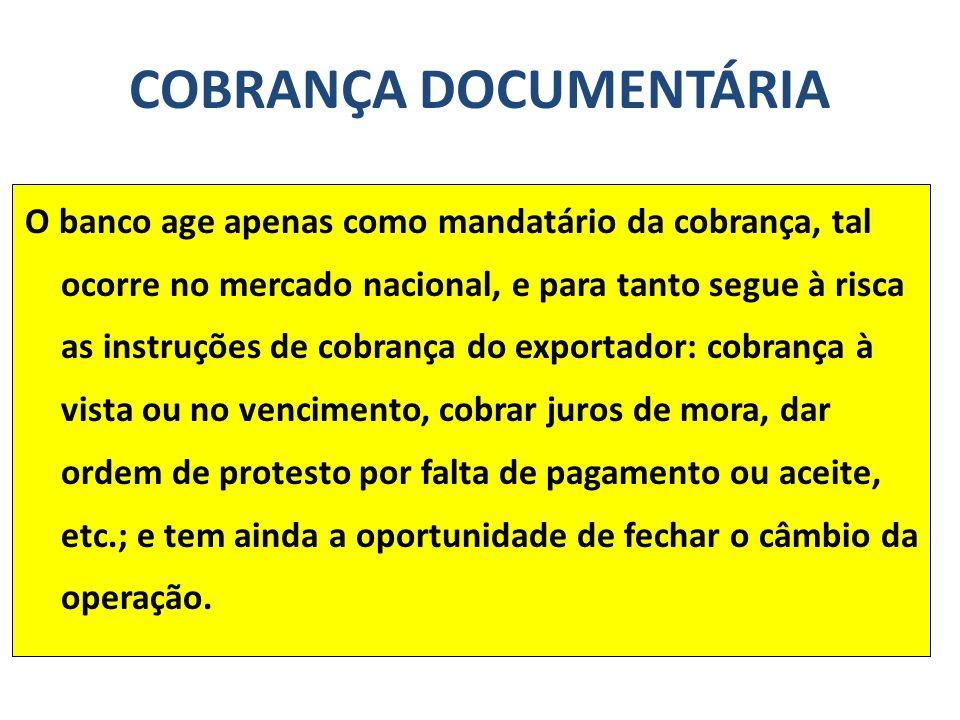 COBRANÇA DOCUMENTÁRIA