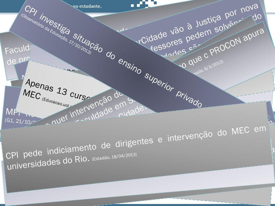 Faculdade Alvorada é descredenciada pelo MEC após denúncias de problemas (Correio Braziliense, 7/9/2013)